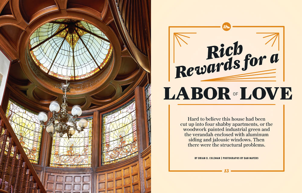 Rich Rewards for a Labor of Love by Megan Hillman