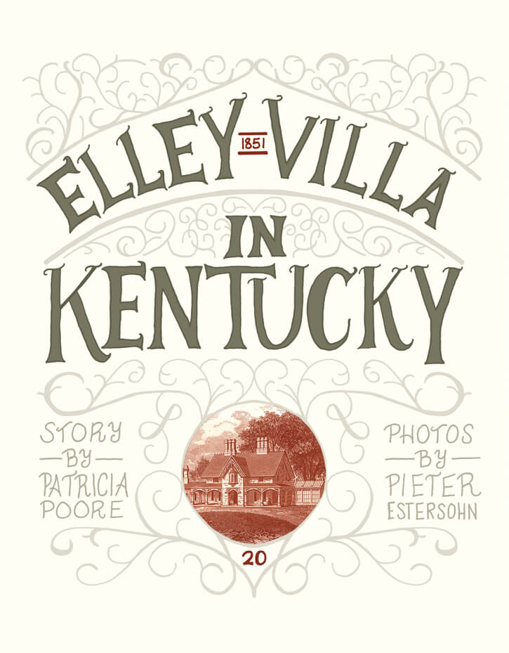 Elley Villa in Kentucky by Megan Hillman