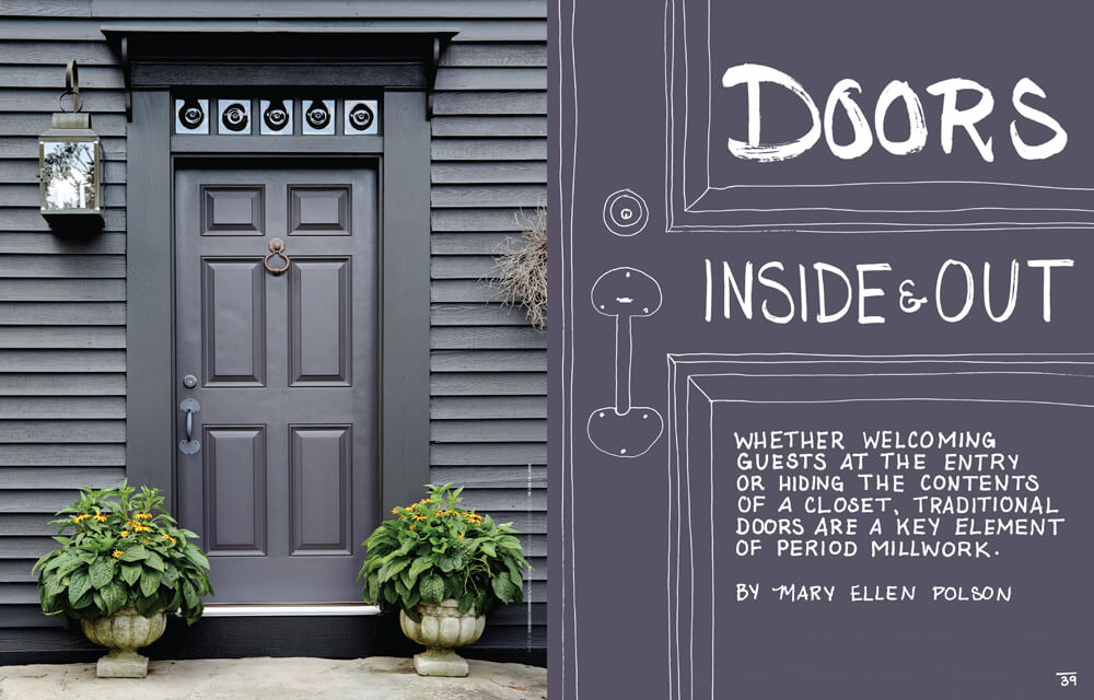 Doors: Inside & Out by Megan Hillman