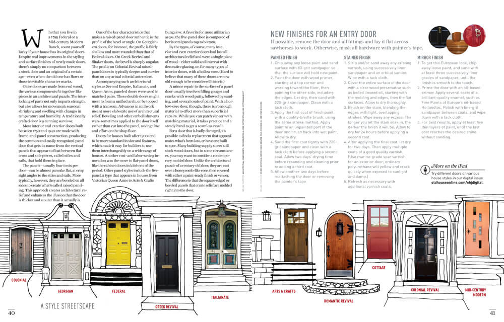 Doors: Inside & Out by Megan Hillman