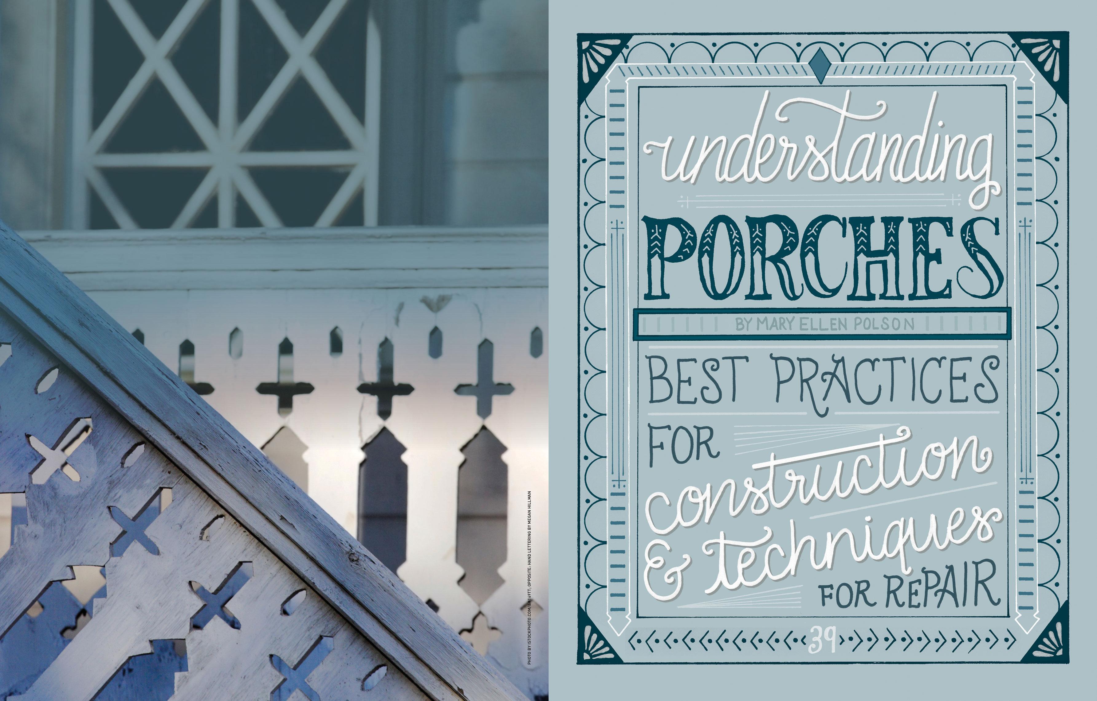Understanding Porches by Megan Hillman
