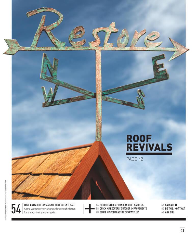 Roof Revivals by Megan Hillman