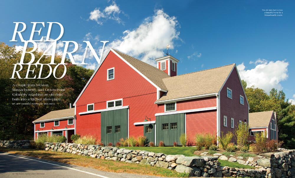 Red Barn Redo by Megan Hillman