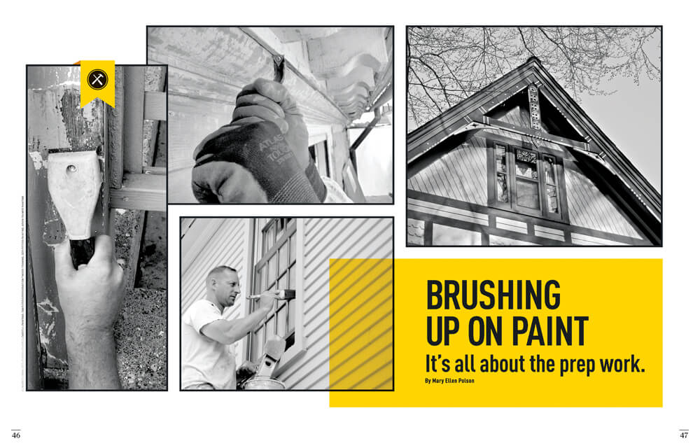 Brushing Up on Paint by Megan Hillman