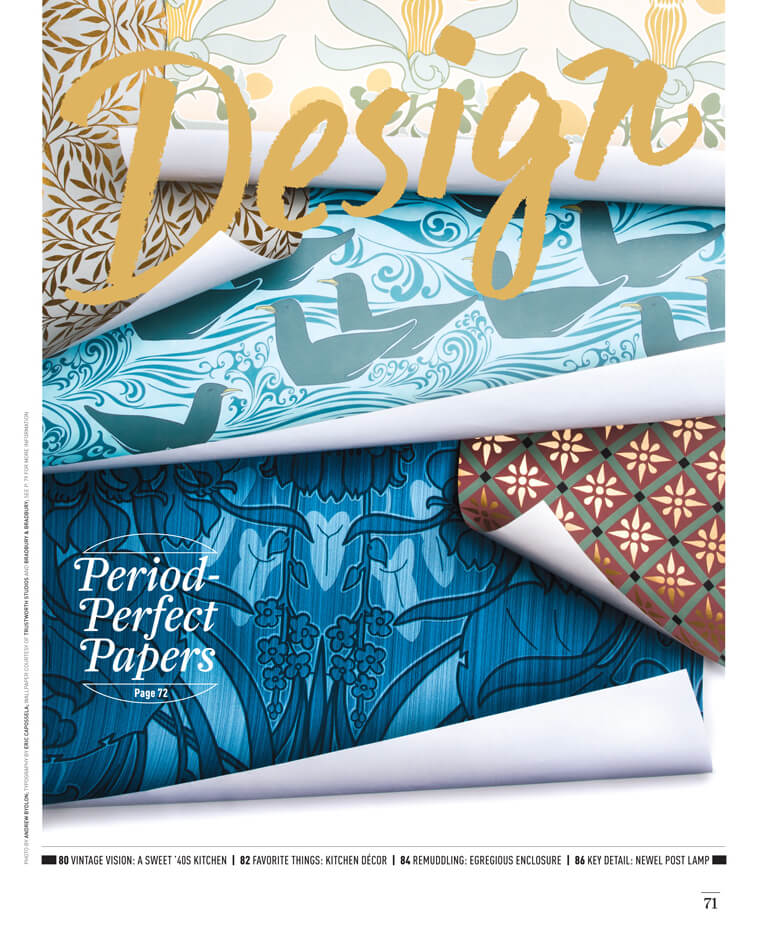 Period Perfect Papers styling by Megan Hillman