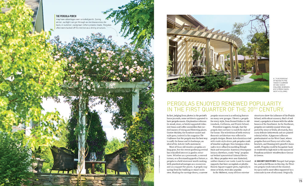 Presenting the Pergola by Megan Hillman