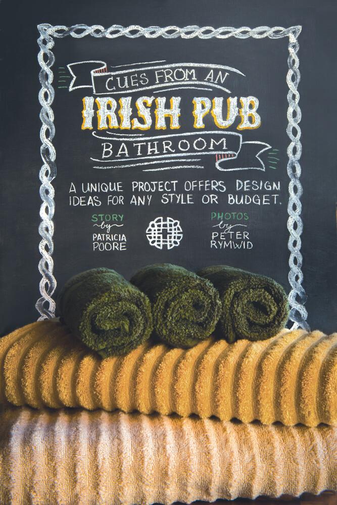 Cues from an Irish Pub Bathroom by Megan HIllman