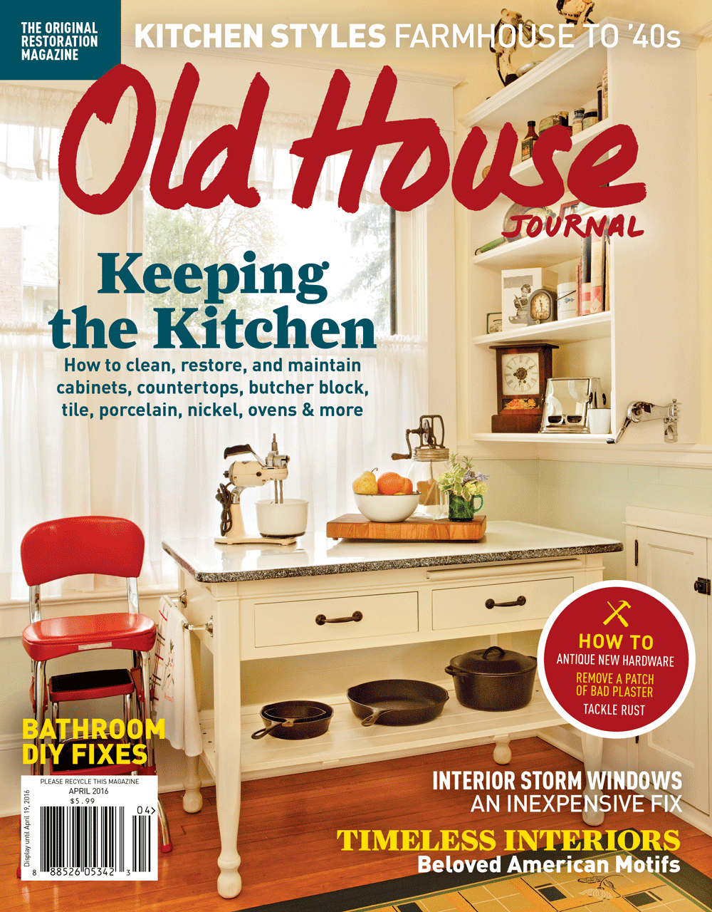Old House Journal Covers by Megan Hillman