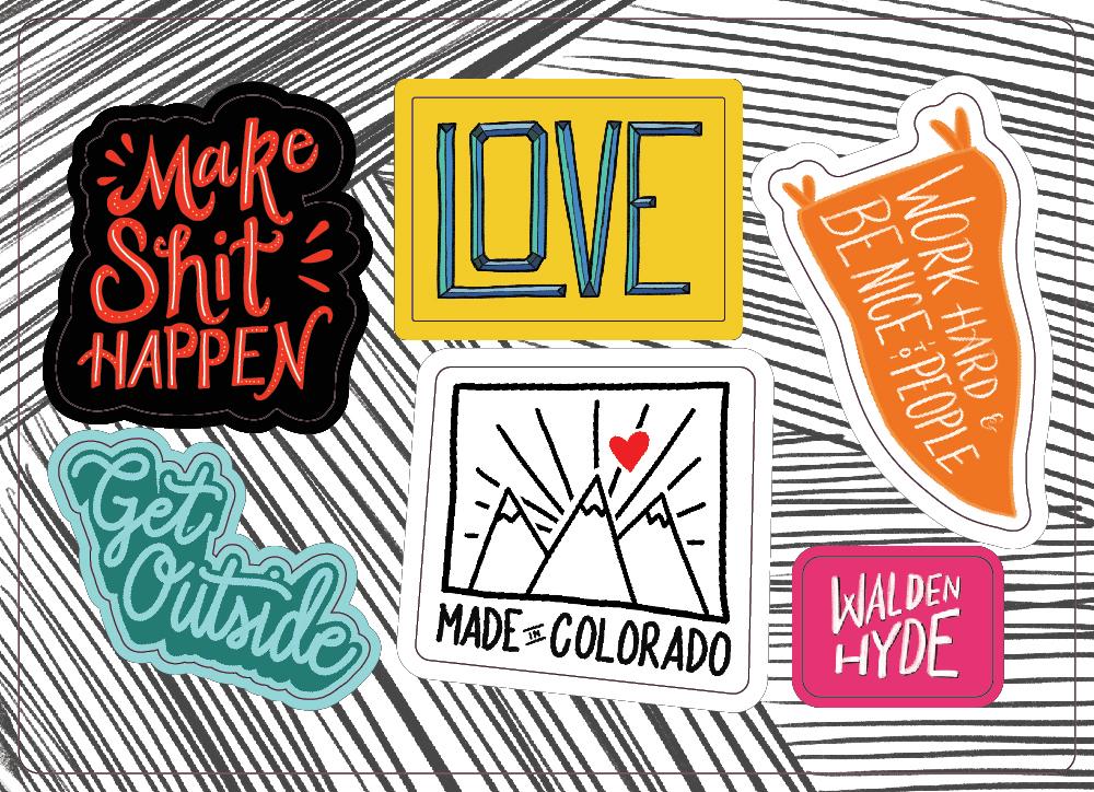 Stickers by Megan Hillman