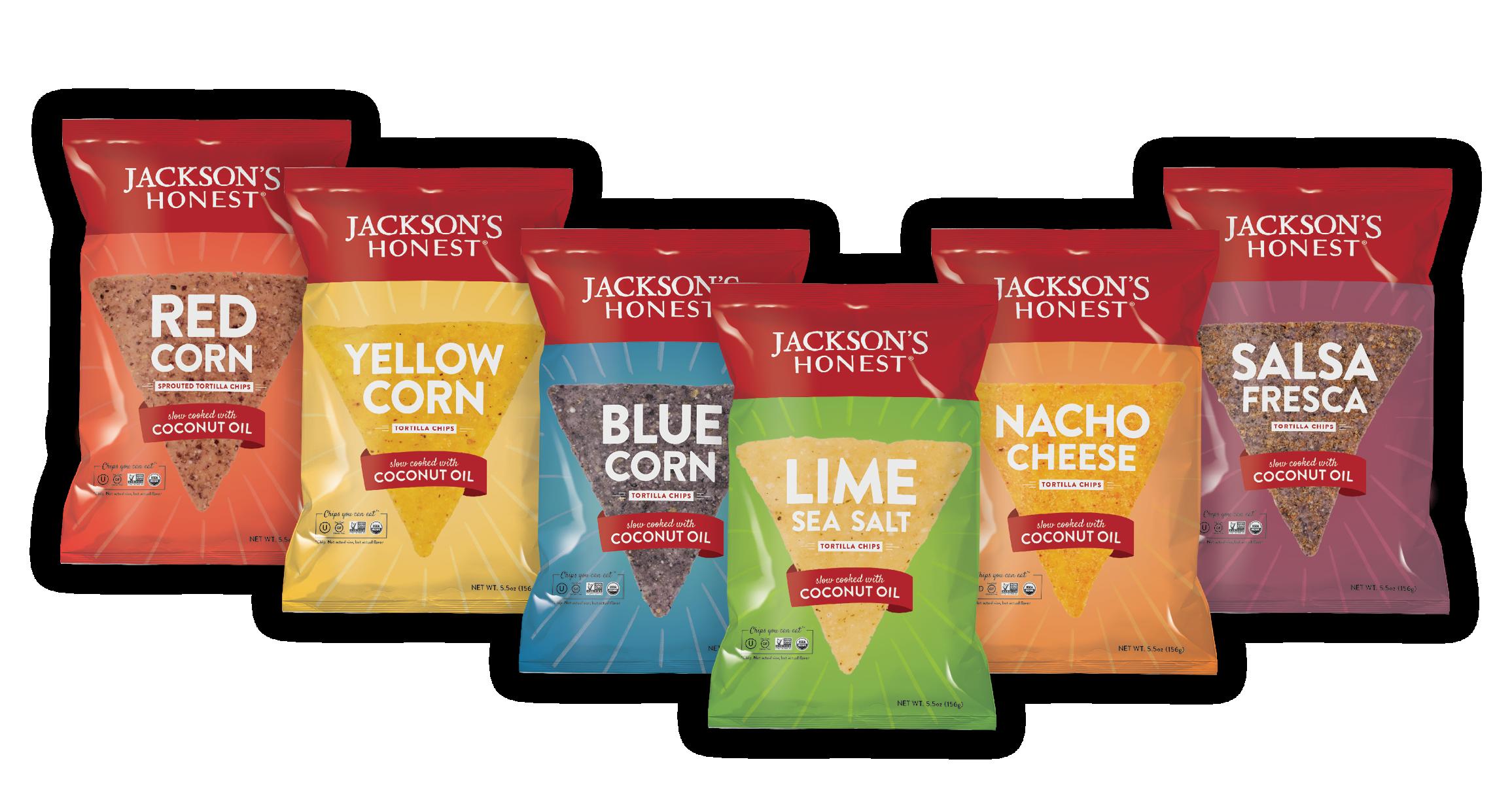 Jackson's Honest Packaging by Megan Hillman