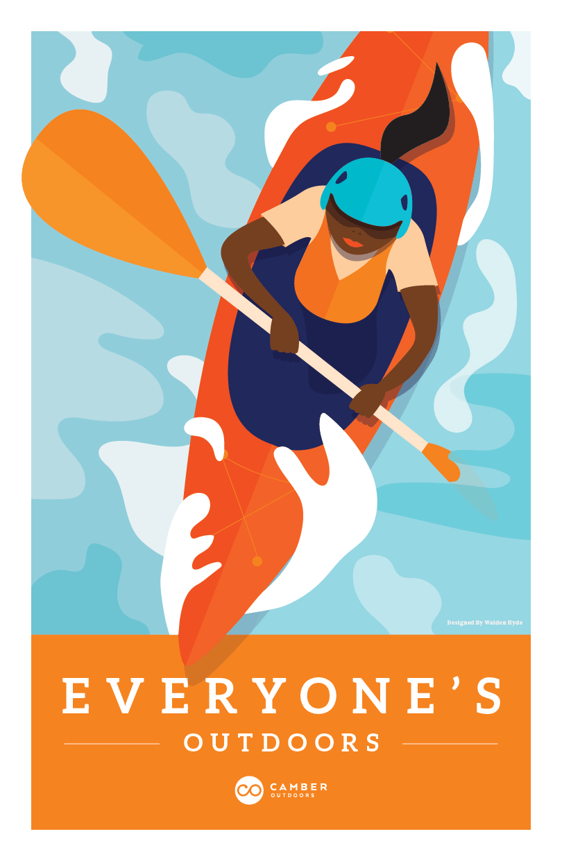 Camber Poster by Megan Hillman