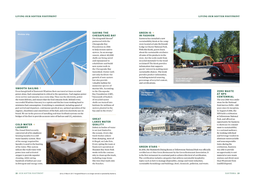 Sustainability Report by Megan Hillman