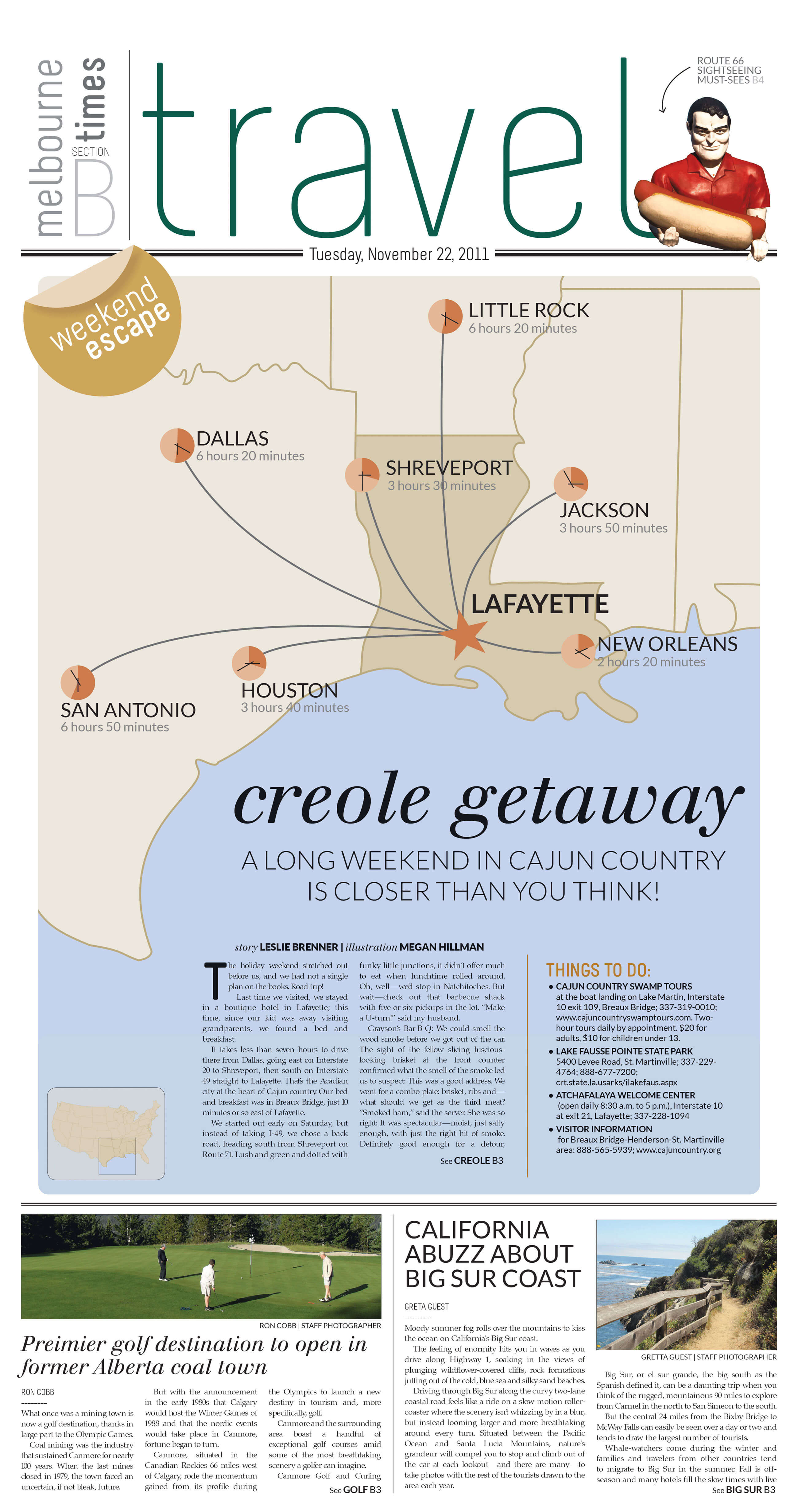 Creole Getaway by Megan Hillman