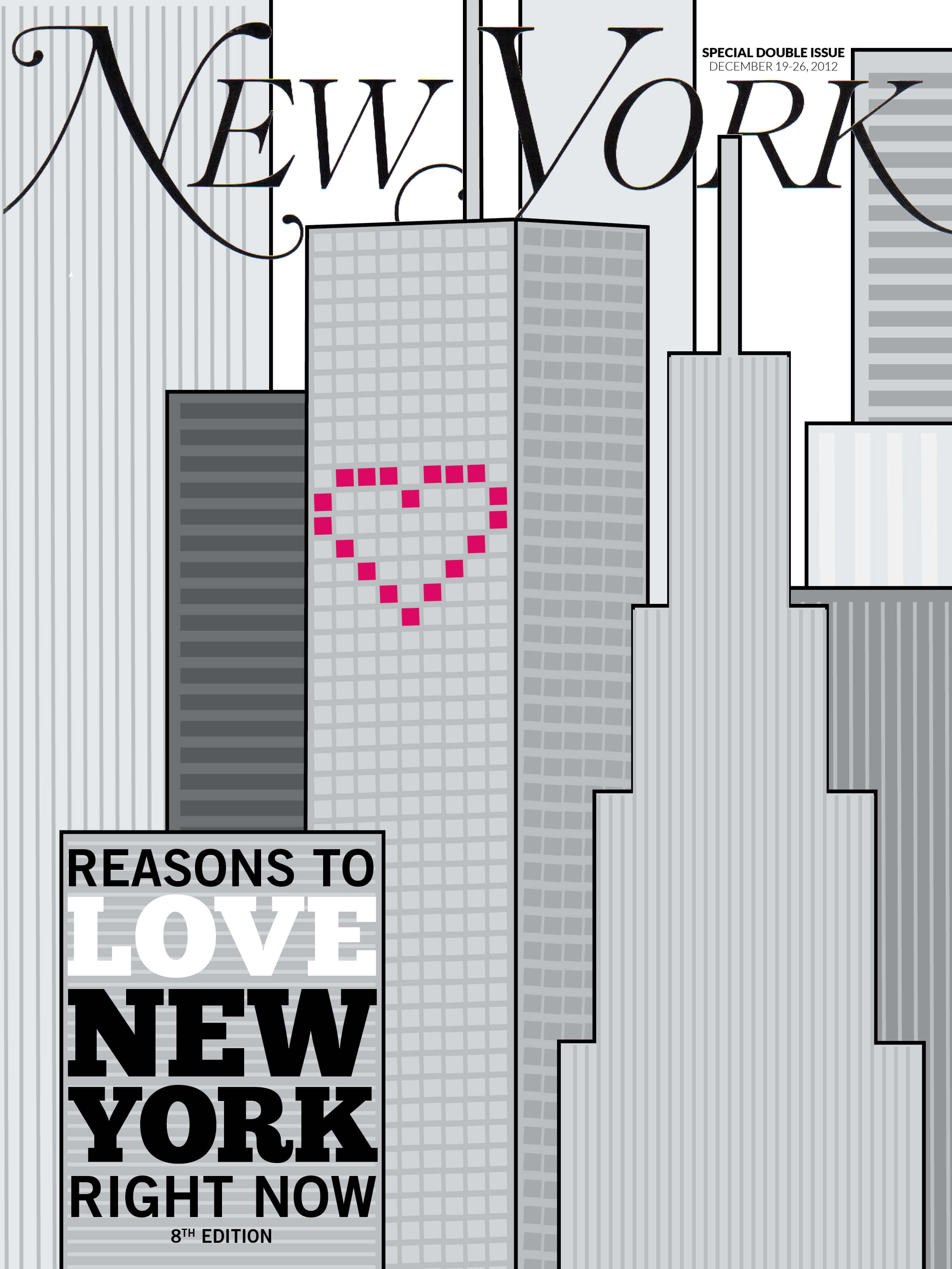 Reasons to Love New York by Megan Hillman